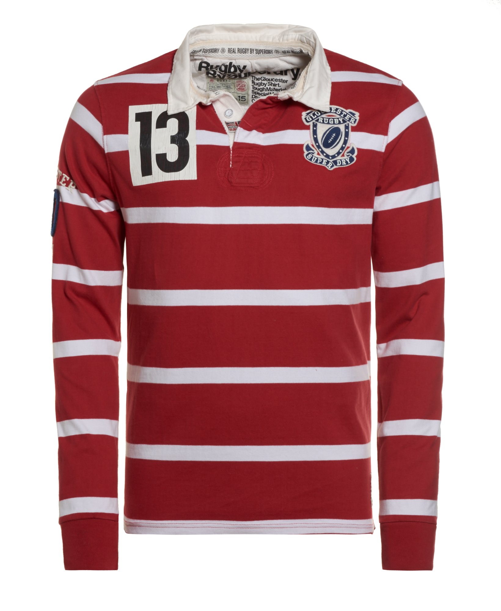 New Mens Superdry Factory Second Gloucester Rugby Shirt ...
