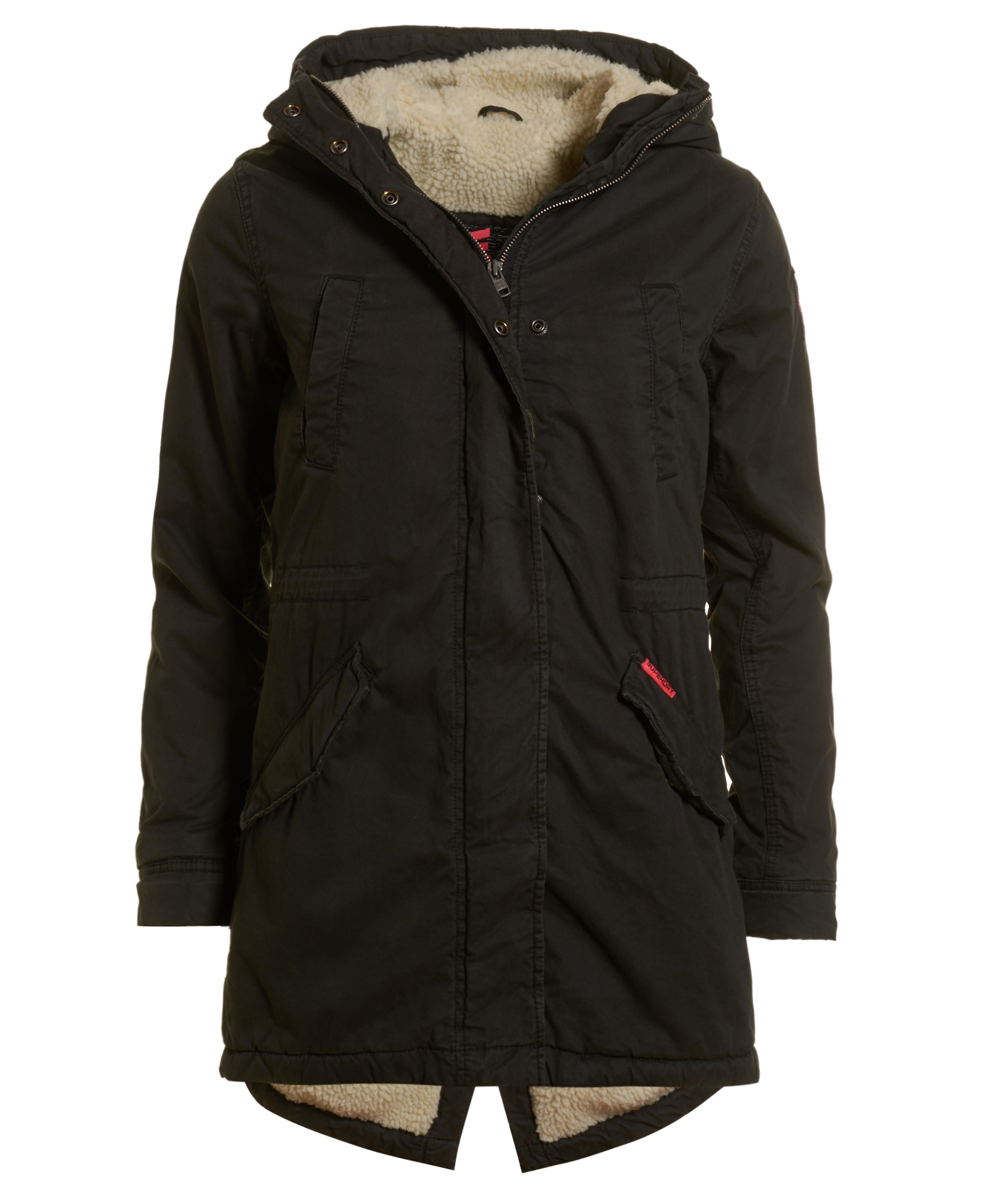 New Womens Superdry Unique Sample Winter Rookie Military ...