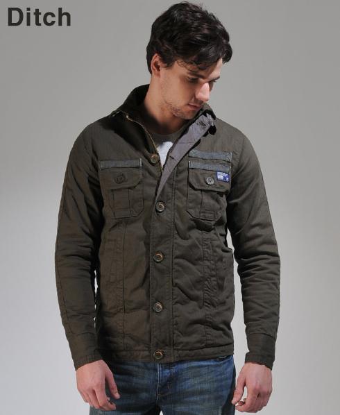 new mens superdry commander shirt jacket. Black Bedroom Furniture Sets. Home Design Ideas