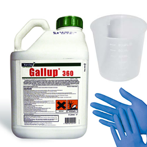 1 x 5l gallup amenity 360 very strong glyphosate. Black Bedroom Furniture Sets. Home Design Ideas