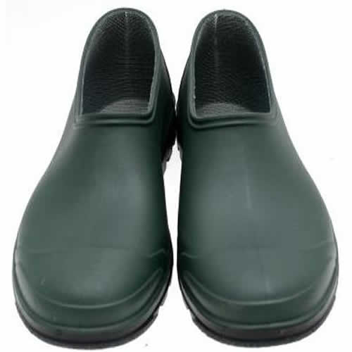 BRIERS CLASSIC GREEN GARDEN SHOES PVC GARDENING FOOTWEAR SIZE 6 B0456