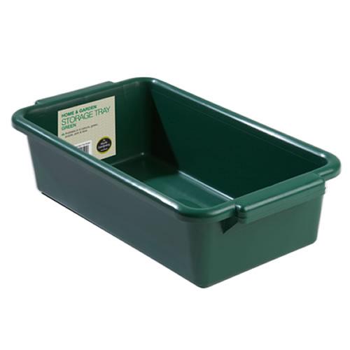 Garland Home Garden Storage Tray Green Container Heavy
