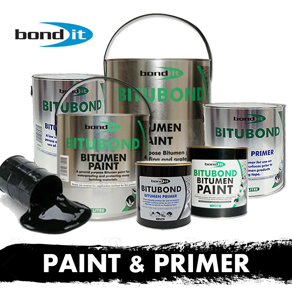 bitumen paint primer waterproof seal repair roof leak felt asphalt. Black Bedroom Furniture Sets. Home Design Ideas