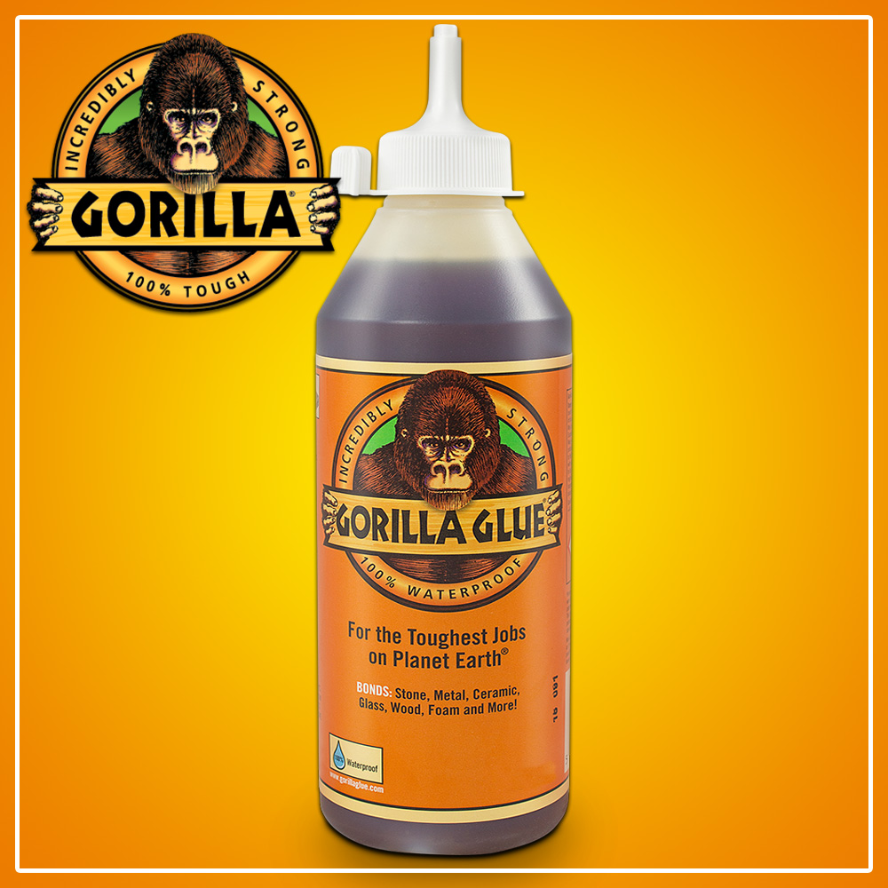 1 Litre Gorilla Glue Multi Purpose Strong Adhesive Epoxy