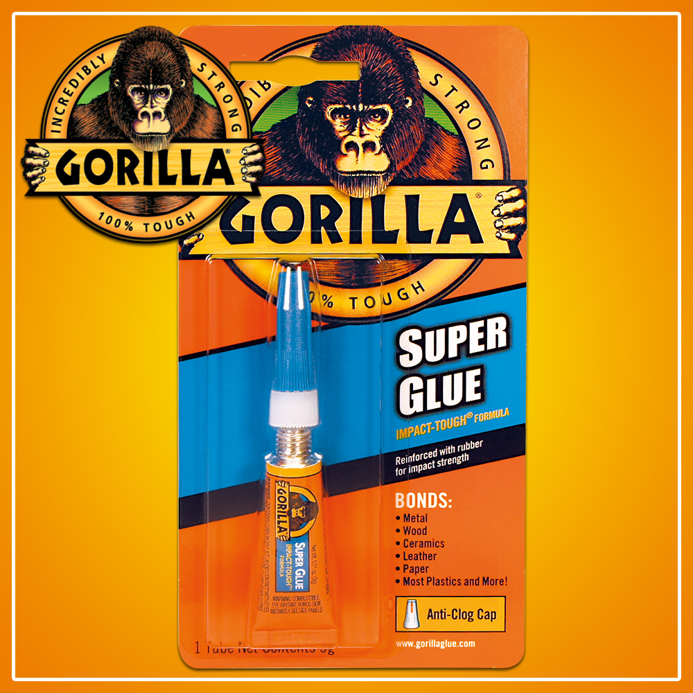 3g super gorilla glue multi purpose strong adhesive epoxy waterproof fast dry ebay. Black Bedroom Furniture Sets. Home Design Ideas