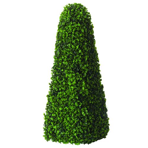 60cm Gardman Artificial Decorative Topiary Obelisk Buxus