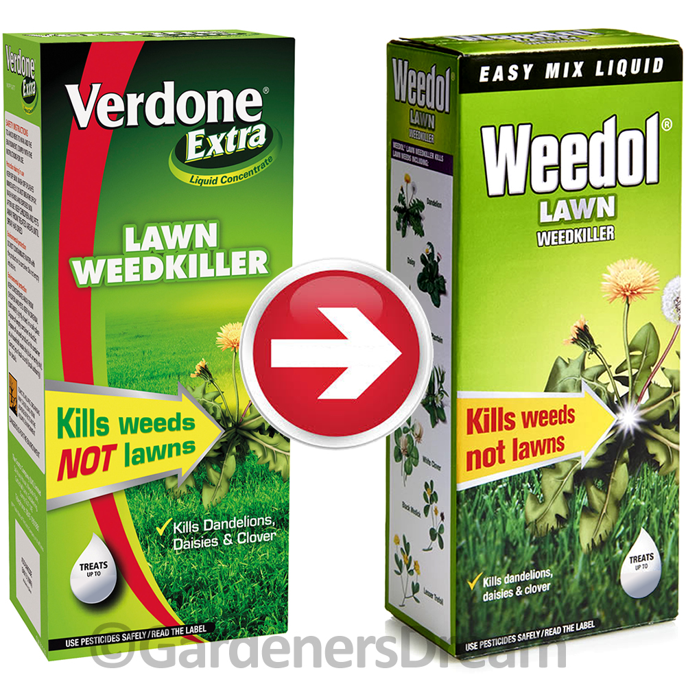 1l Scotts Weedol Verdone Fast Acting Lawn Weedkiller Concentrate Weeds Patio Ebay