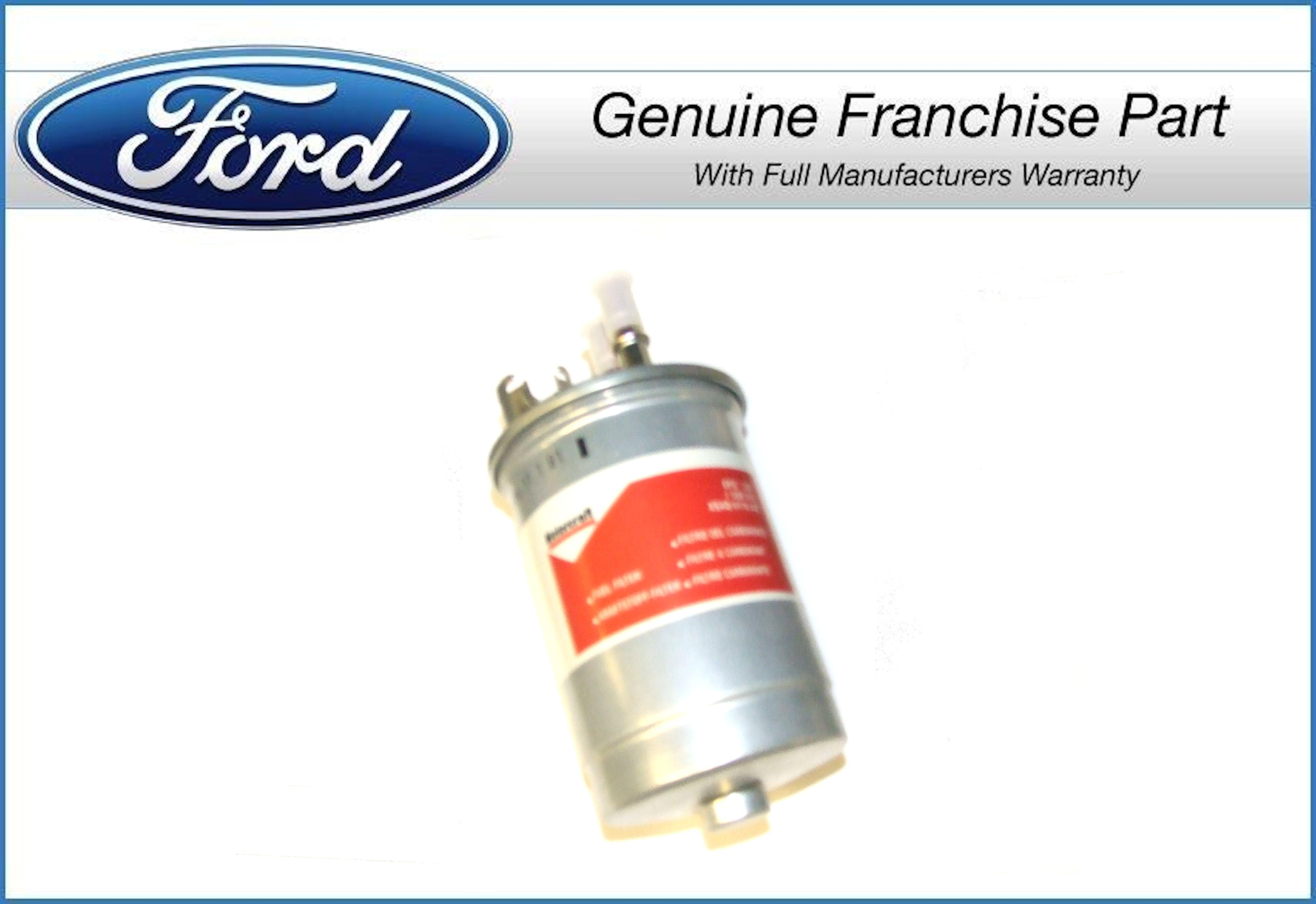 genuine ford fuel filter ford focus 1 8 diesel 1999 to 2001 ebay. Black Bedroom Furniture Sets. Home Design Ideas
