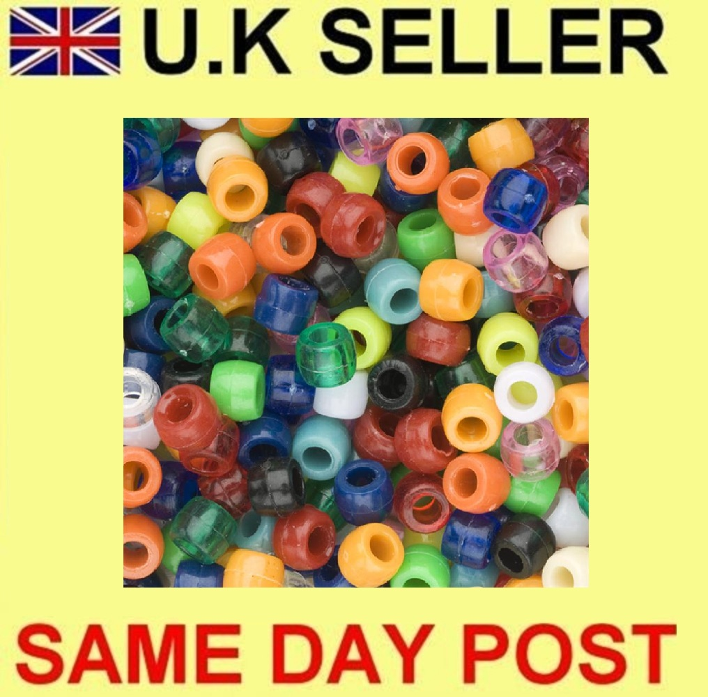 Barrel Beads Pack Of 500