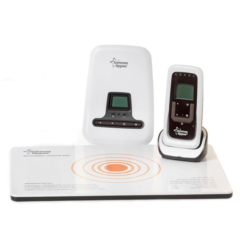 tommee tippee digital sensor pad baby monitor children alarm sensor lcd remote ebay. Black Bedroom Furniture Sets. Home Design Ideas