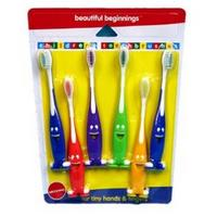 View Item Beautiful Beginnings Happy Face Toothbrushes [Baby Product]