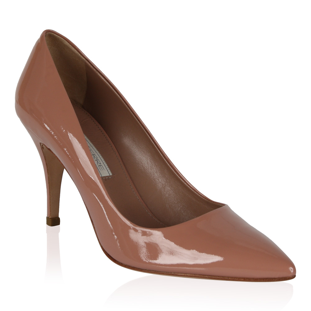 PIED-A-TERRE-LADIES-ABA-NUDE-PATENT-WOMENS-POINTY-STILETTO-HEEL-SHOES-SIZE-3-8