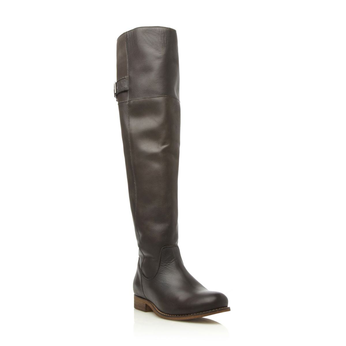 NEW-DUNE-BERTIE-LADIES-OVER-THE-KNEE-RIDING-LOW-HEELED-BOOTS-WOMENS-SIZES-3-8