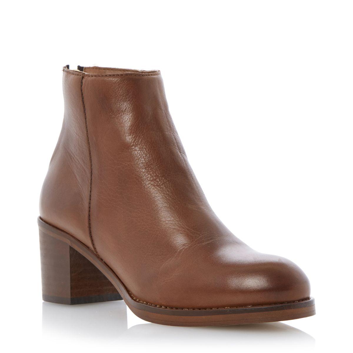 Ladies Block Shoes Dune