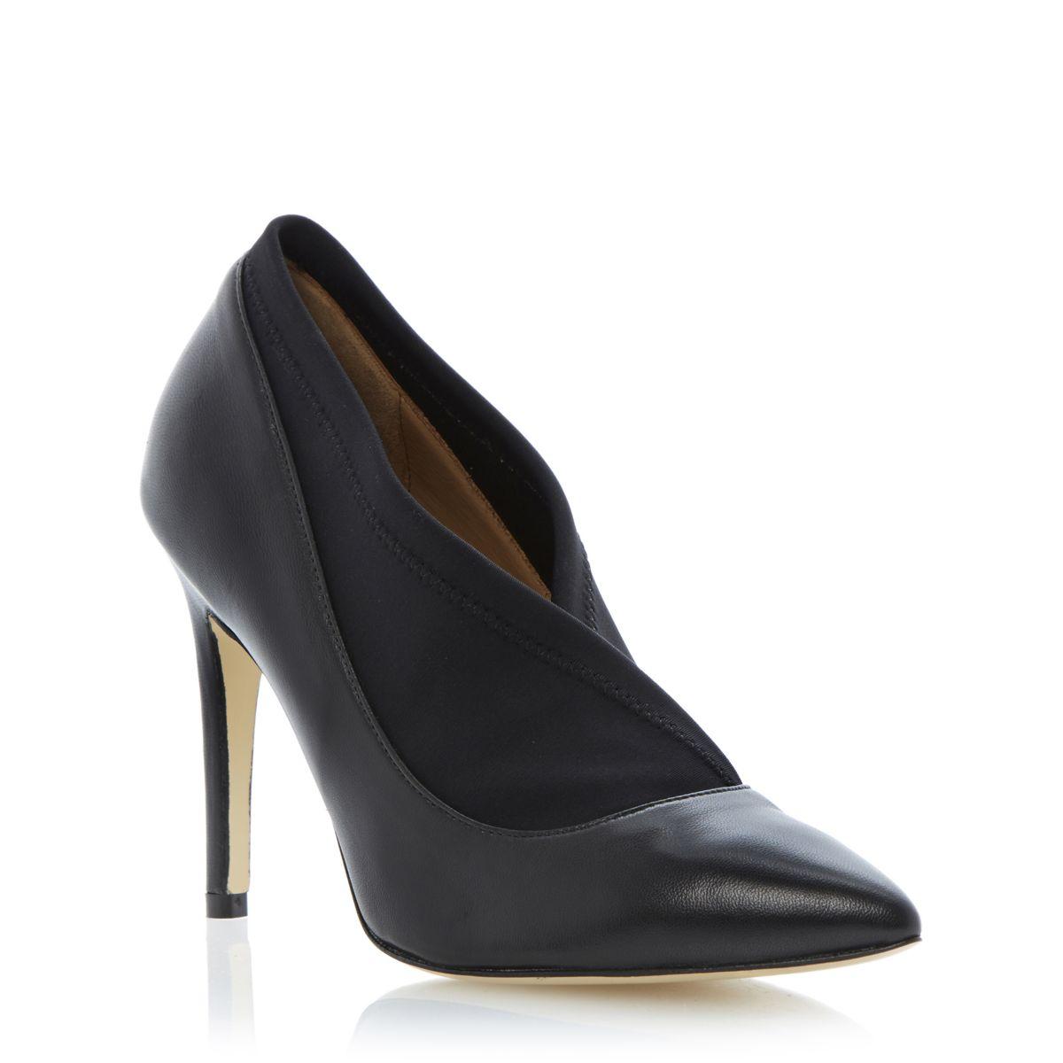 bottines femmes dune alaia femme noir talon aiguille et bout pointu cour chaussures taille uk 3. Black Bedroom Furniture Sets. Home Design Ideas