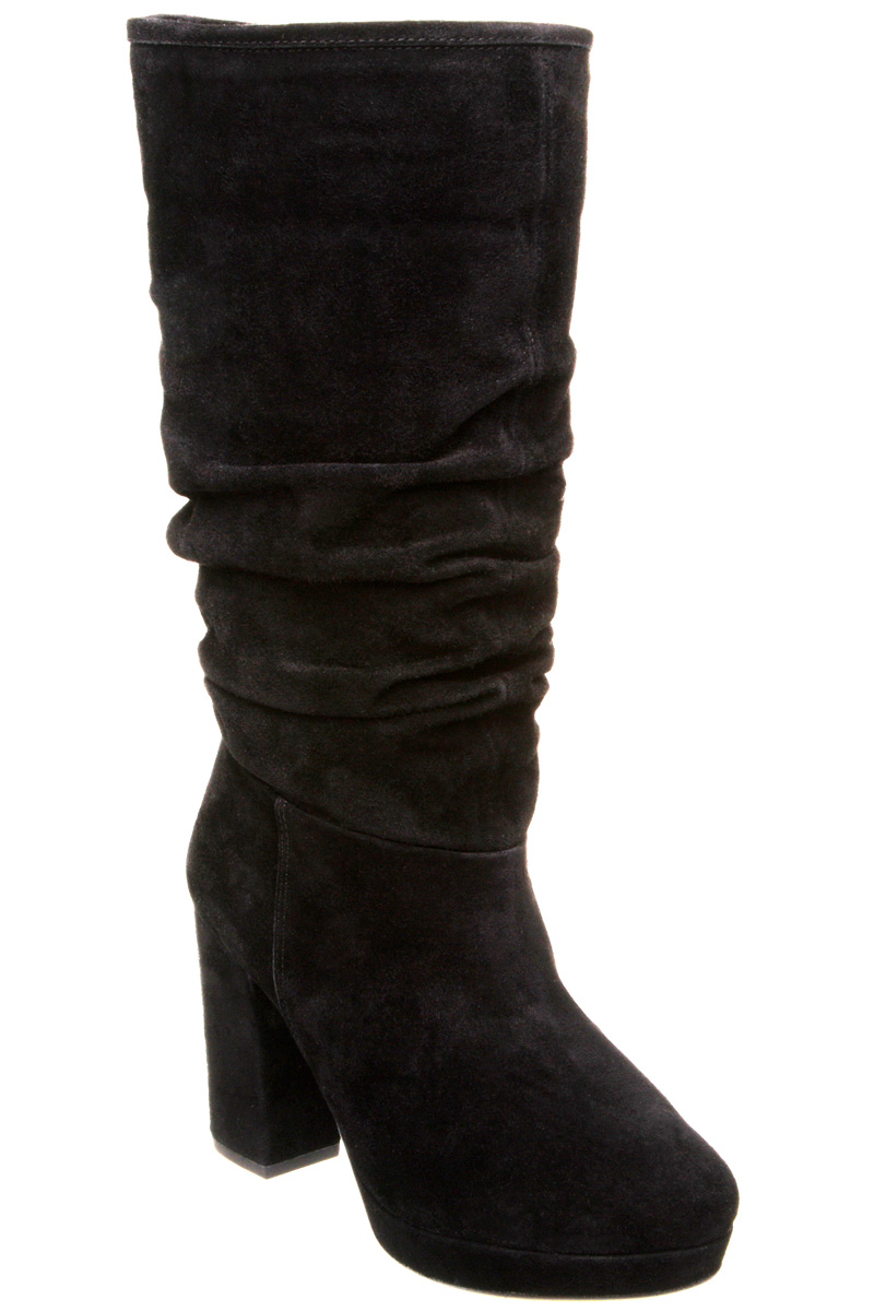 new dune womens kirsty d black suede high heel