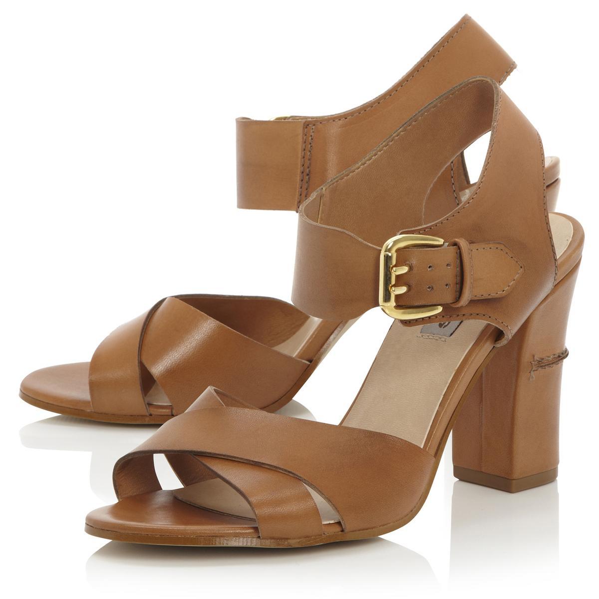 Dune Shoes Block Heel