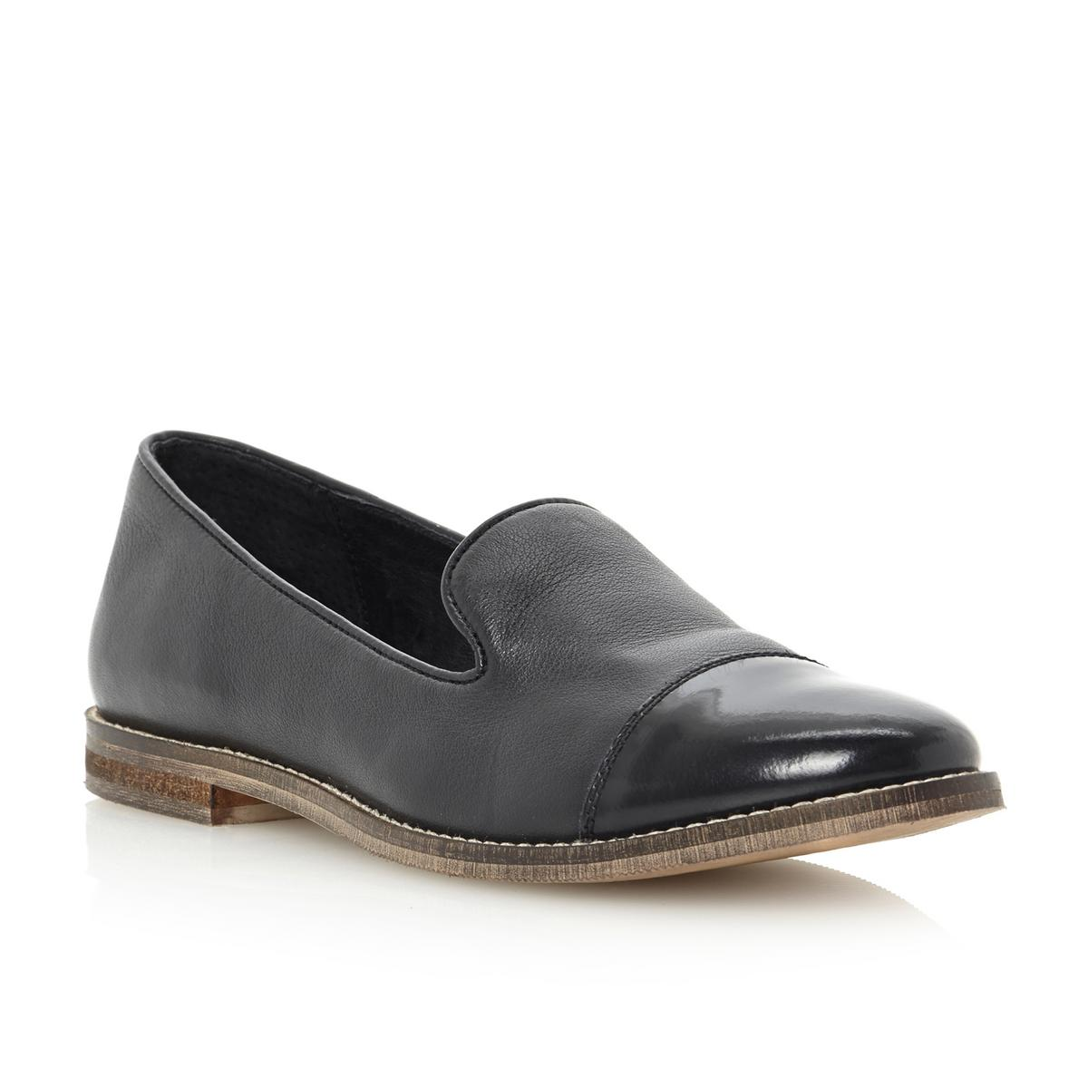 Ladies Flat Leather Work Shoes