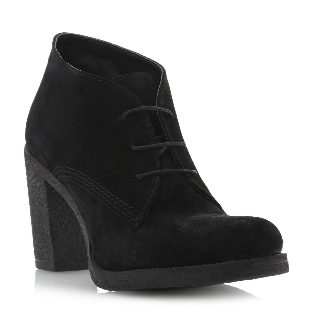 Black Suede Ankle Boots. Showing 48 of results that match your query. Search Product Result. Product - Sloggers Women's Rain & Garden Ankle Boots. Reduced Price. Product Image. Product - Black Suede Lace Up Floral Cutout Ankle Boots with Rhinestones and 6 Inch Heel. Reduced Price.