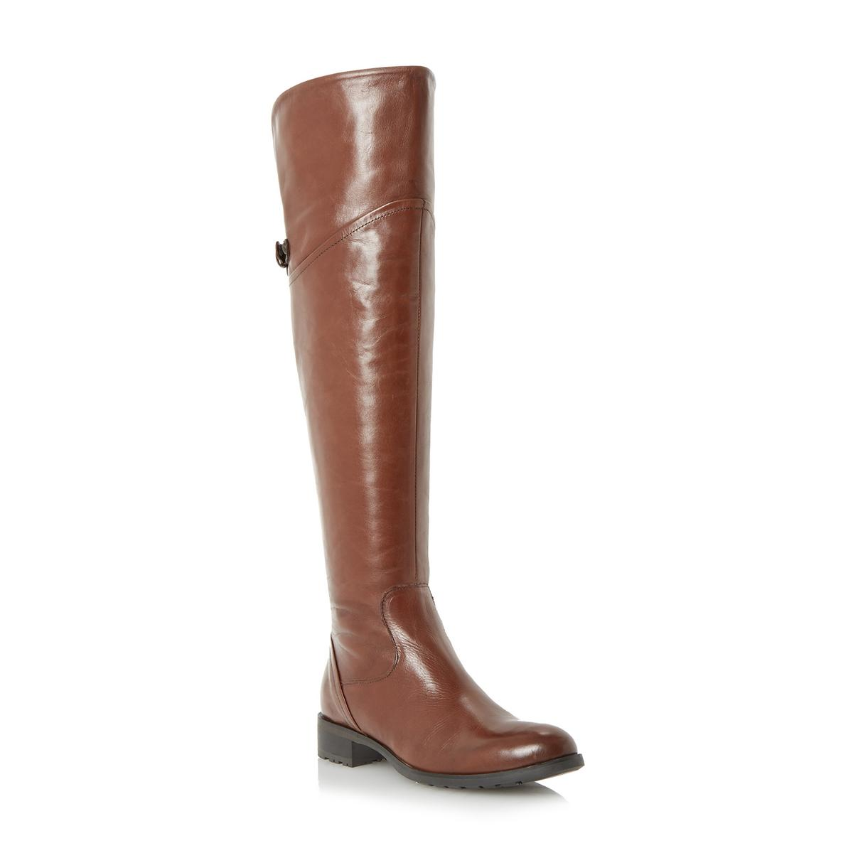 dune totton womens brown the knee