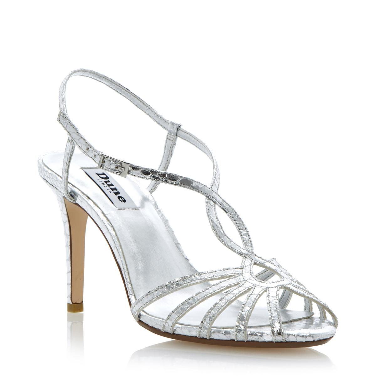 Find strappy heels silver at ShopStyle. Shop the latest collection of strappy heels silver from the most popular stores - all in one place.