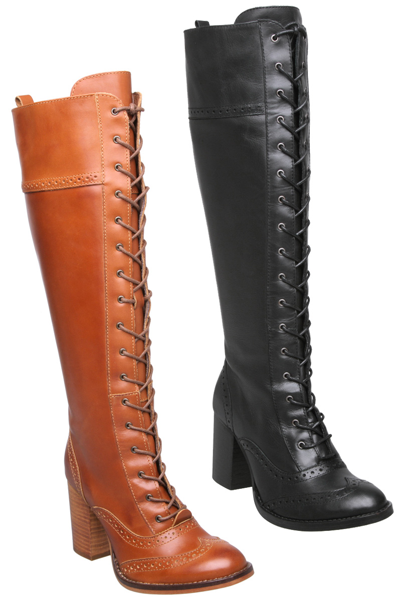 Find great deals on eBay for long leather lace up boots. Shop with confidence.