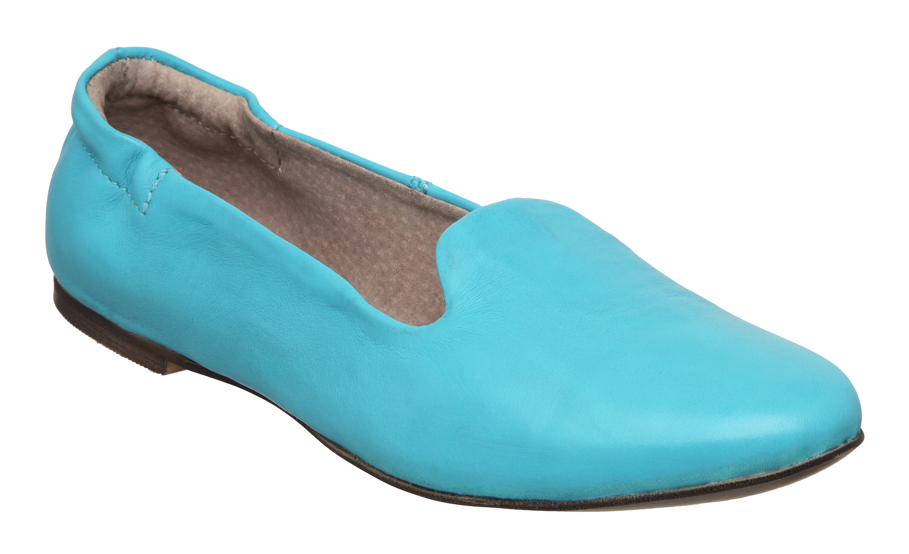 new dune louisa womens turquoise blue leather flat