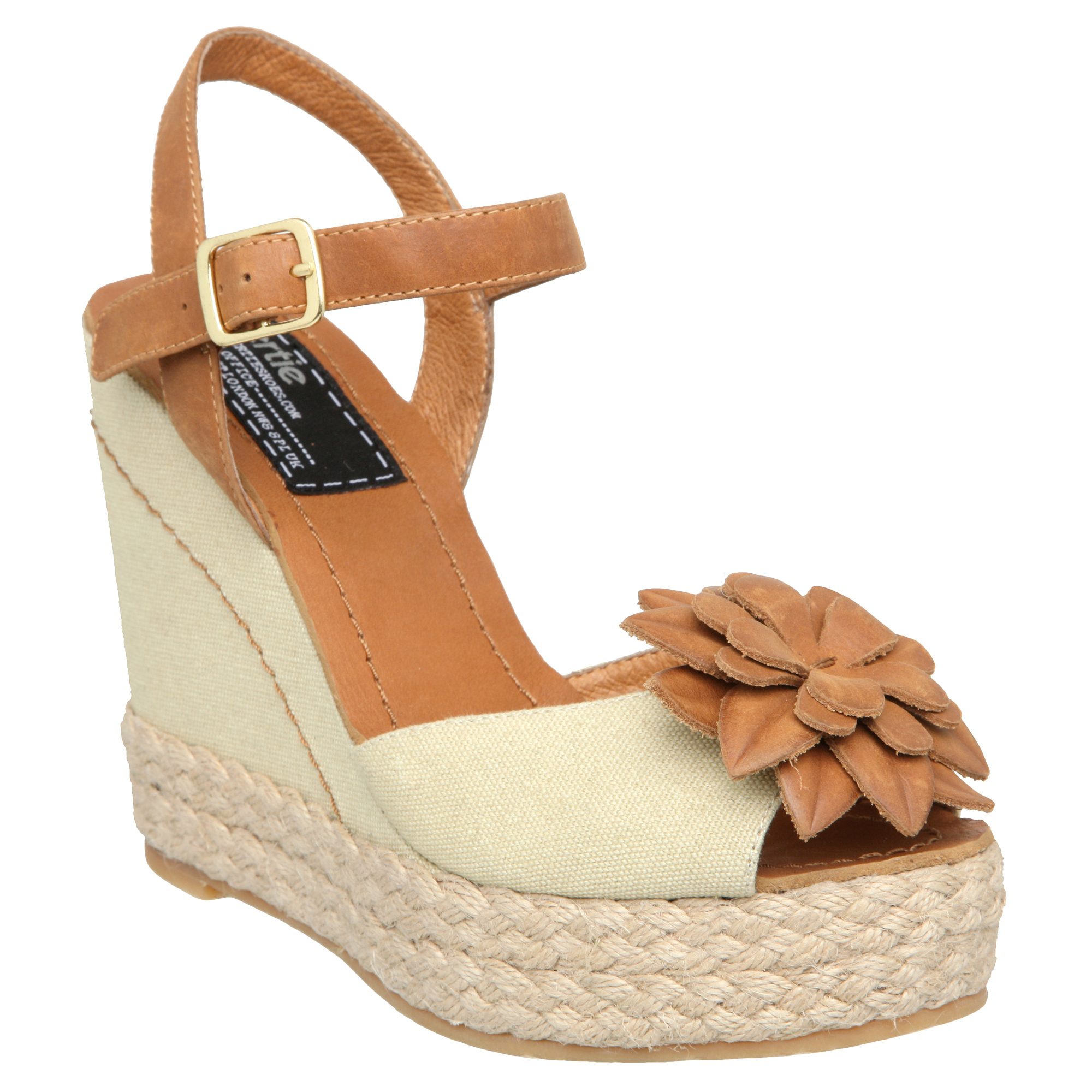 Tan Wedge Shoes Size
