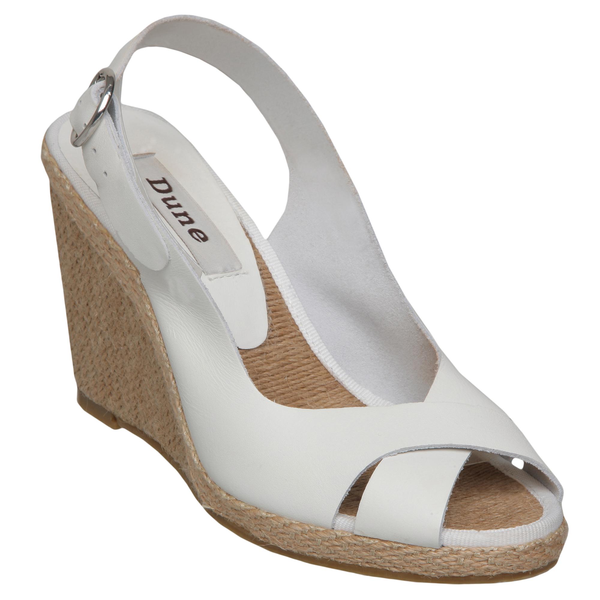 De Talla Acerca Mujer Gong Mostrar Para Cuña Detalles Zapatos Alpargata 8 Título Blanco Sandalia Damas 3 Original Nuevas Cuero Duna NwkXO8n0P