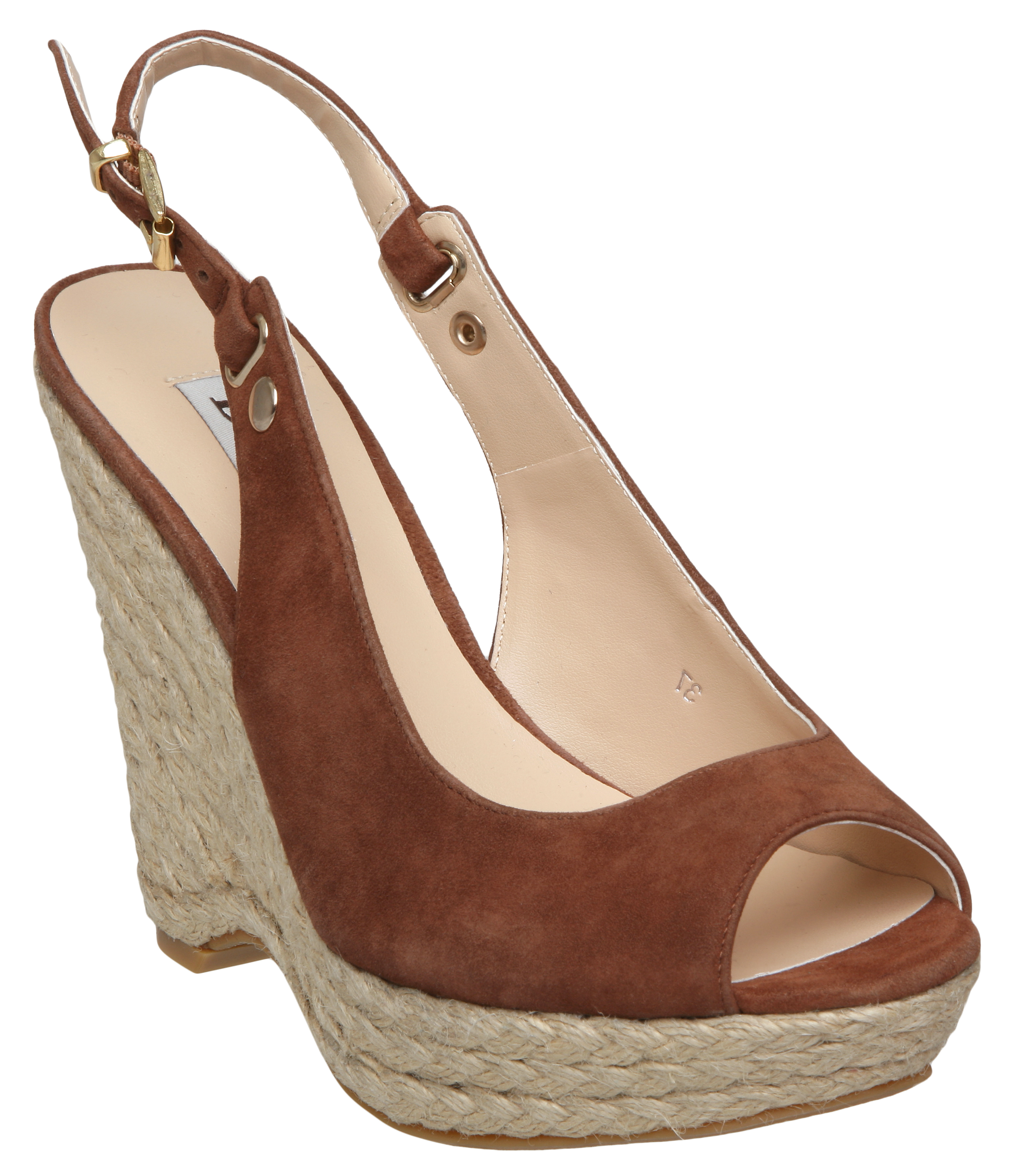 new dune giddy womens wedge platform heel slingback