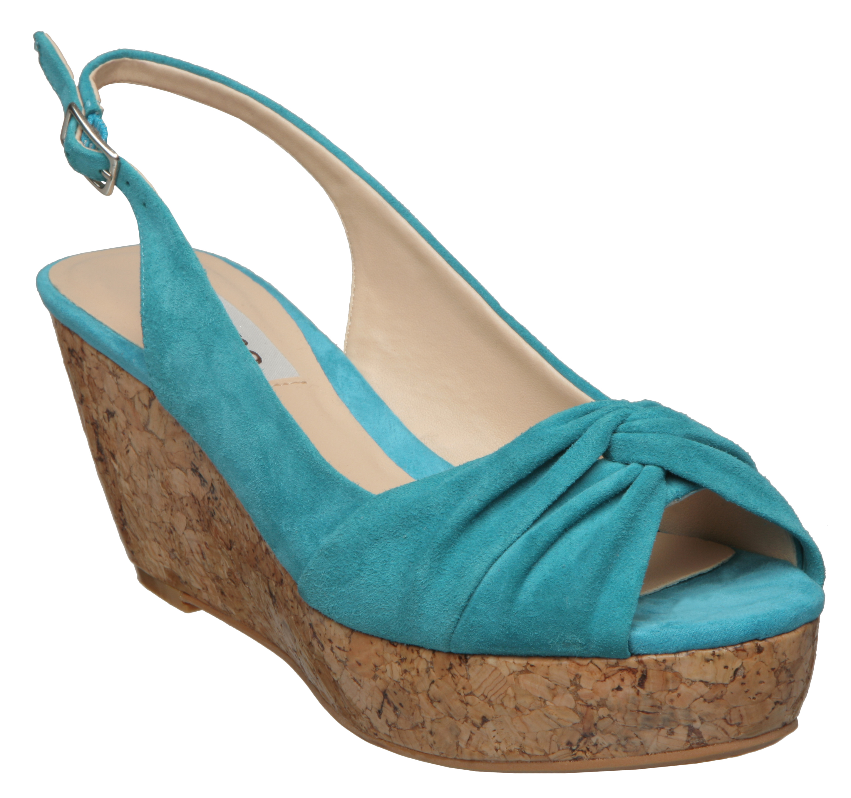 NEW-DUNE-WOMENS-GENEVA-PEEP-TOE-LADIES-SLINGBACK-HIGH-WEDGE-HEEL-SHOES-SIZE-3-8