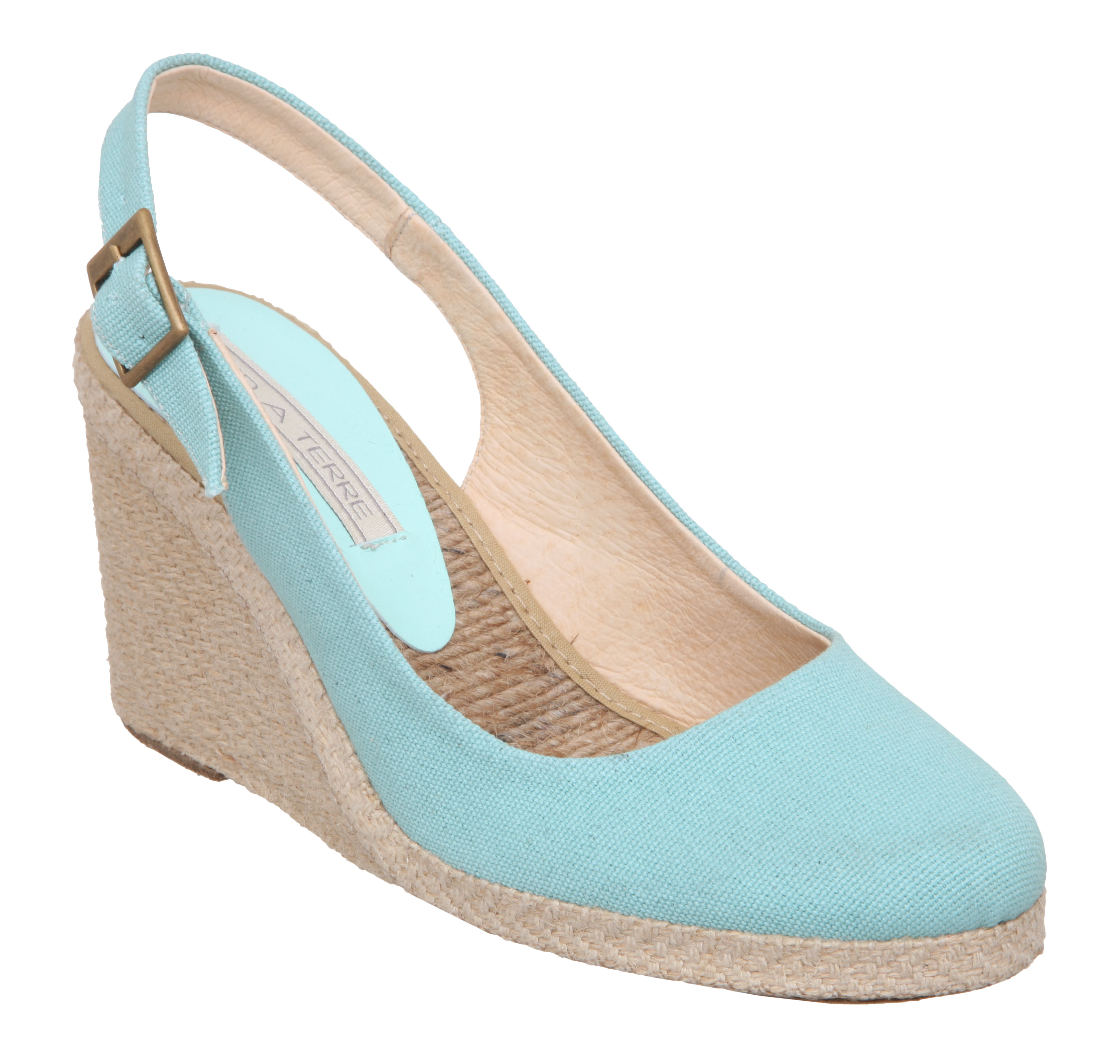 New Pied A Terre Ladies Imperia Womens Water Green Wedge