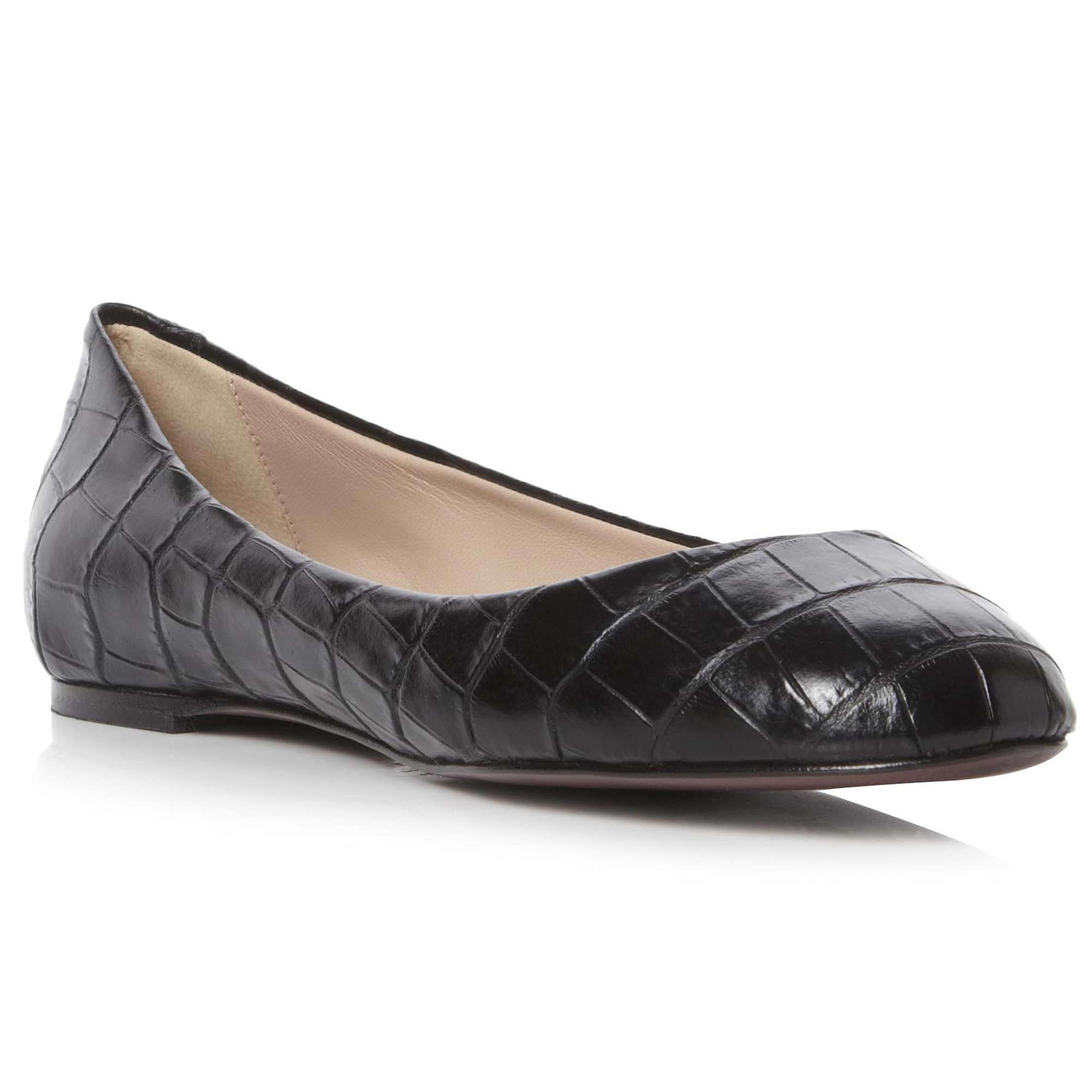 New Womens Pied A Terre Ladies Garnet Black Leather