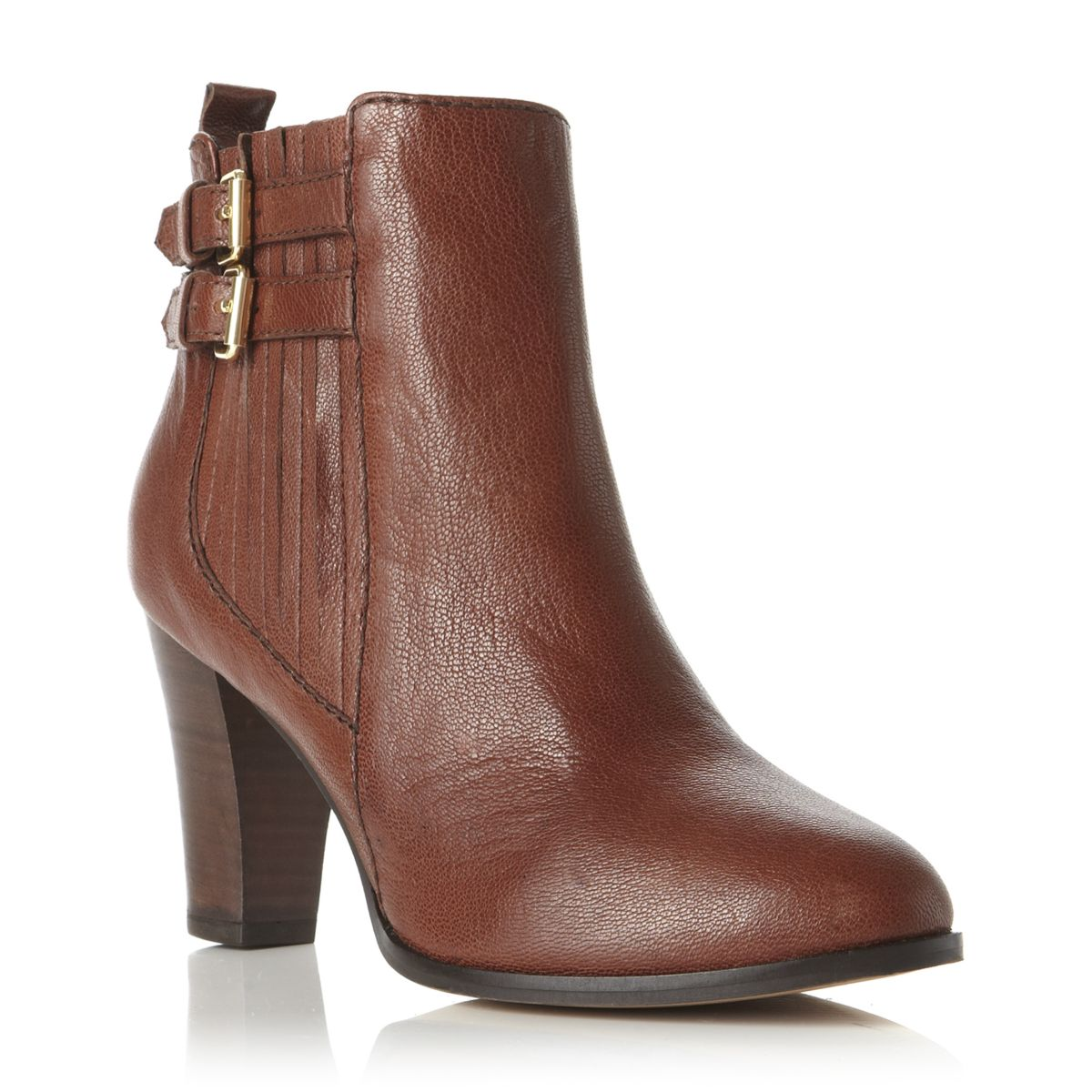 new dune pearly womens brown black heel ankle