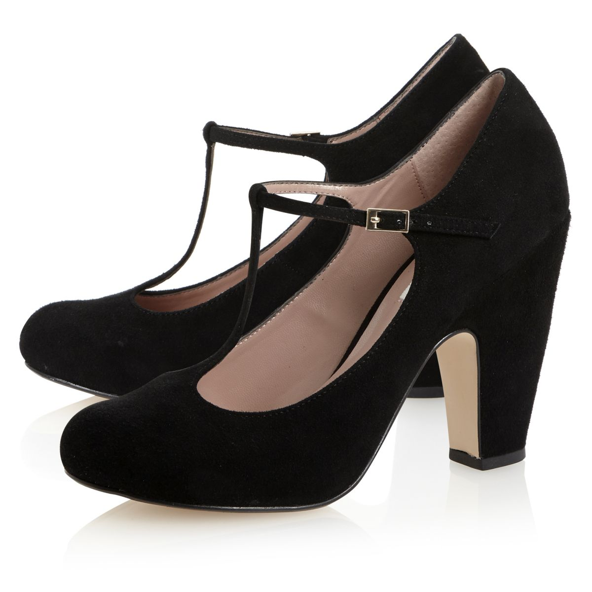 Invest in a pair of womens black faux suede t bar closed court shoes. These shoes are sure to become your new go-to pair for everything from work to evening outs.5/5(5).