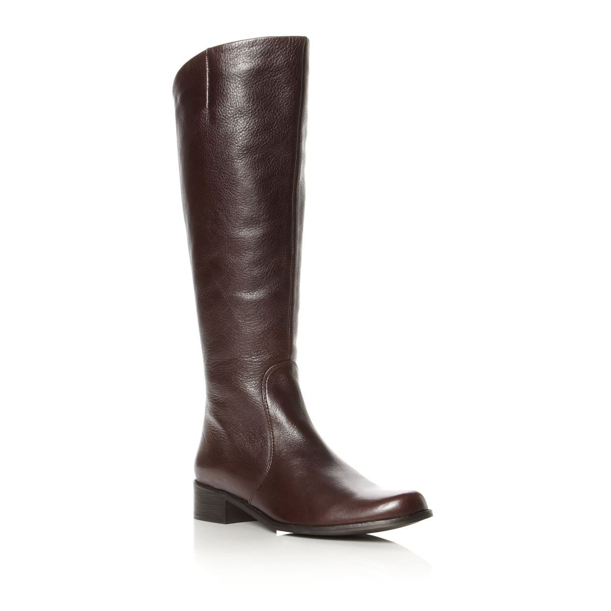NEW-DUNE-LADIES-TOLWORTH-WOMENS-LEATHER-LOW-HEEL-LONG-RIDING-BOOTS-SIZE-3-8-UK