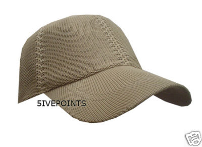 MESH KNITTED plain FITTED BASEBALL HAT CAP BEIGE S/M | eBay