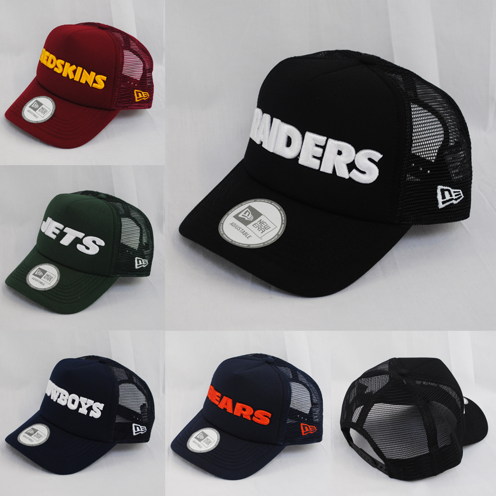 New Era Nfl Team Cap Word Raiders Jets Redskins Colour