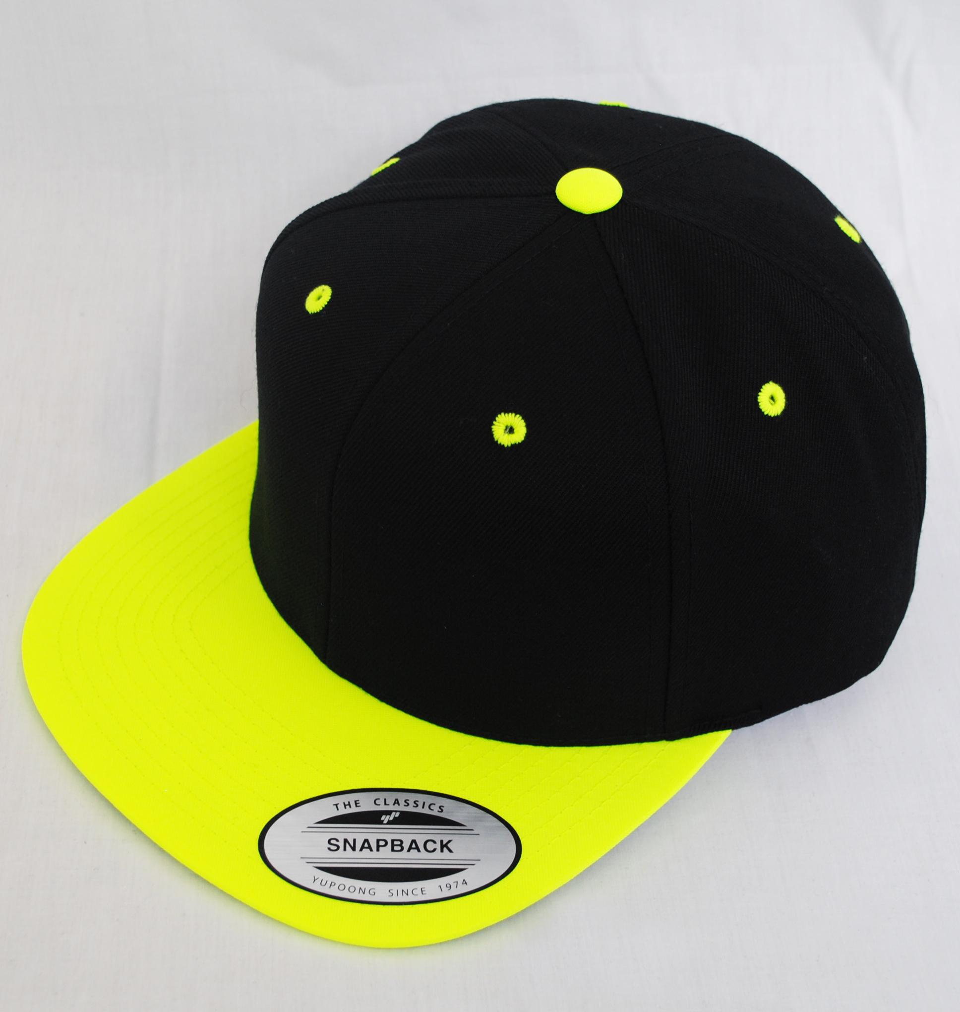 NEW PLAIN FLAT PEAK RETRO SNAPBACK HAT CAP BLACK 28fb477c680