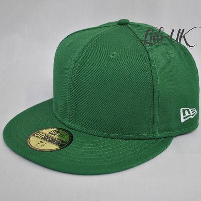 NEW-ERA-59fifty-PLAIN-CAP-HAT-5950-ROYAL- 6e0fec114b7