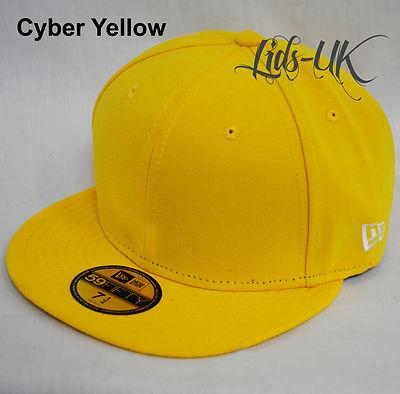 NEW-ERA-59fifty-PLAIN-CAP-HAT-5950-ROYAL- 1a1a8d930cf7