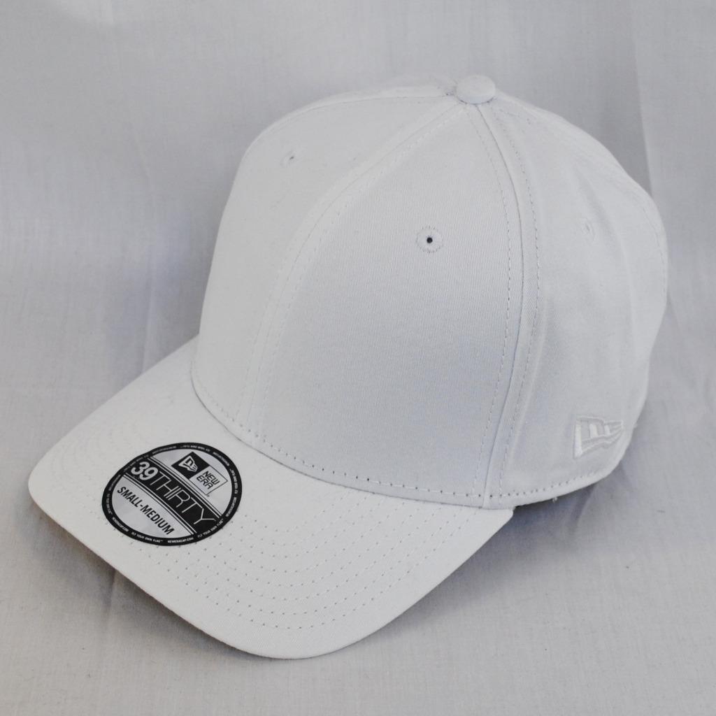 ffaf9876c57 New Era 39Thirty Flagged Plain Cap Stretch Fit Baseball Hat Clothing ...