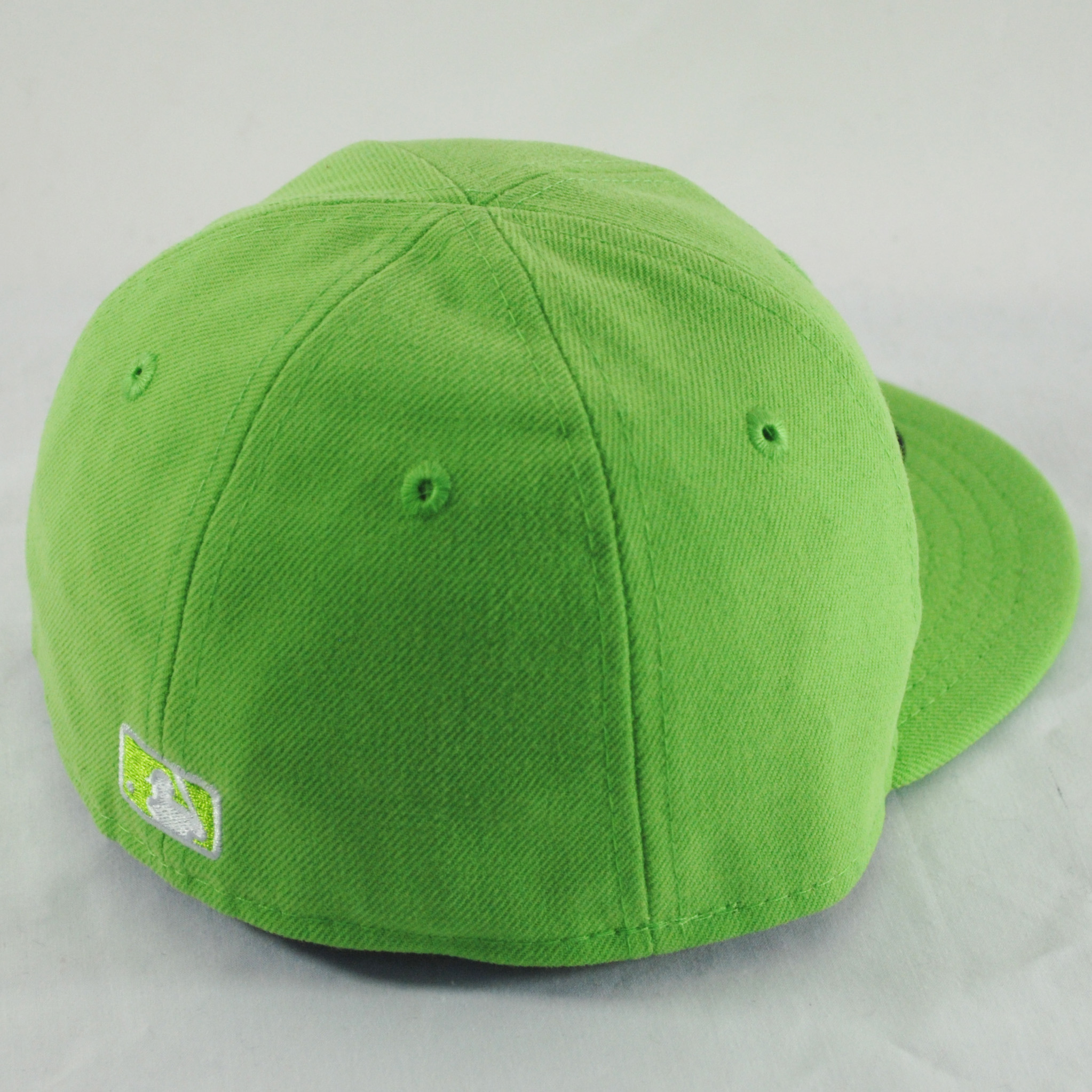 new era infant baby 59fifty ny yankees lime green mlb