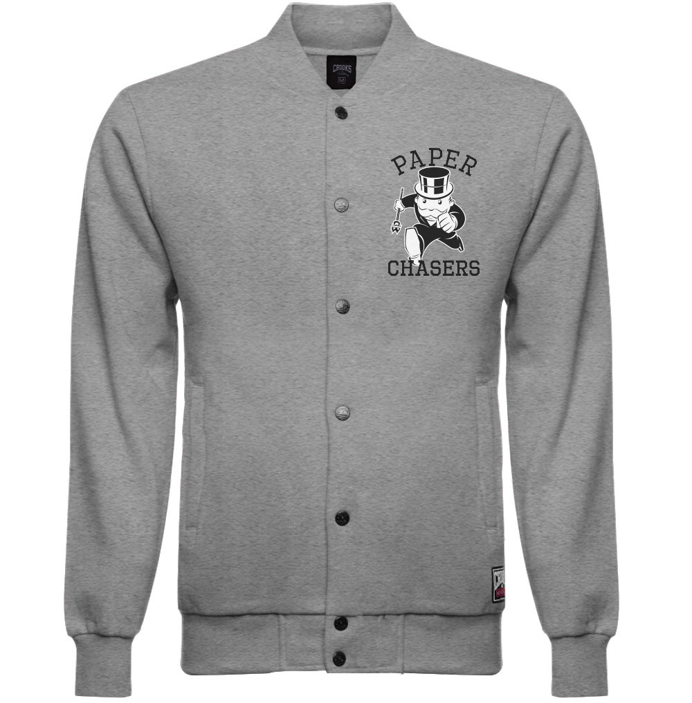 Crooks & Castles Paper Chasers Monopoly Woven Baseball Grey Urban ...
