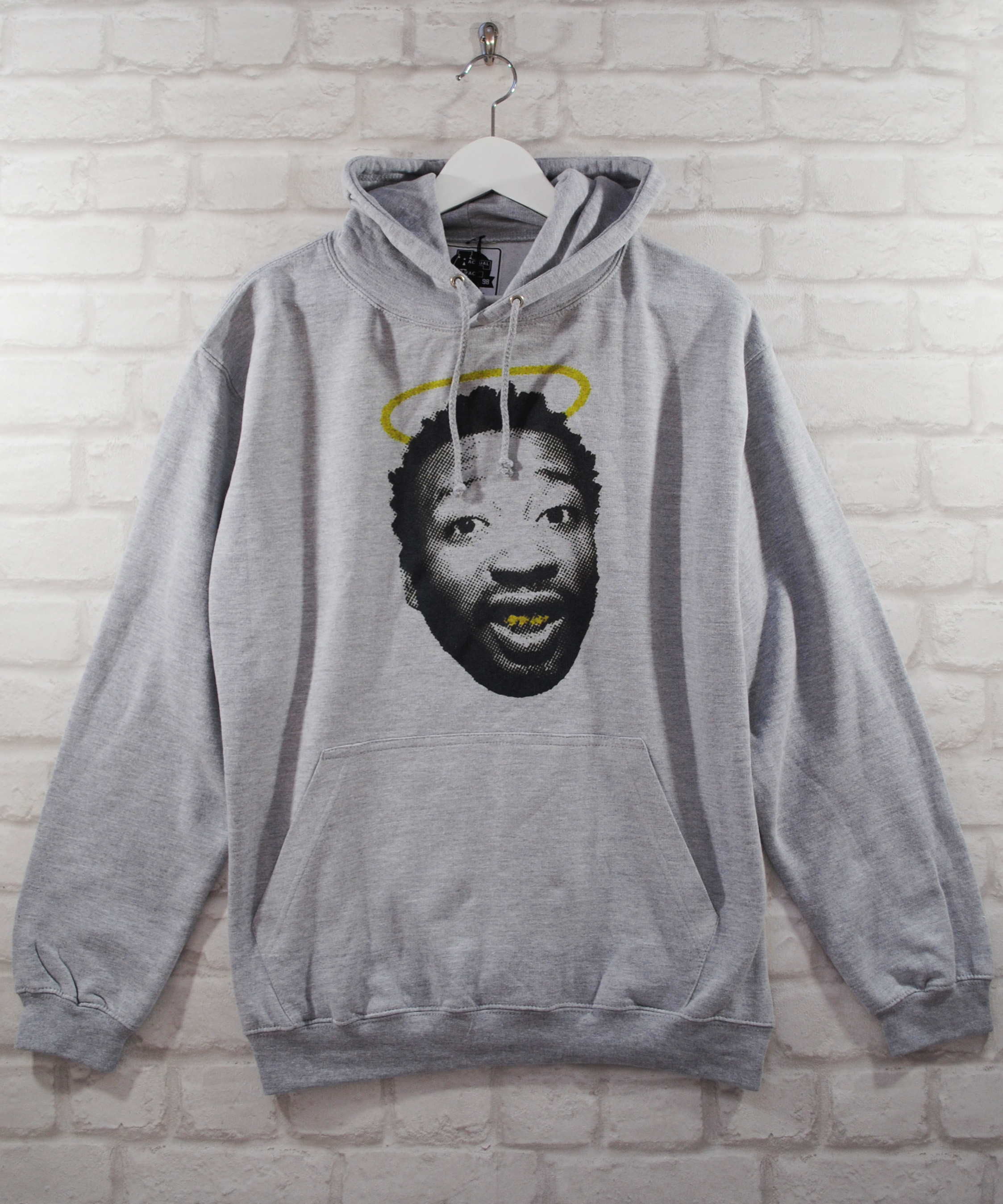 Actual Fact ODB Wu Tang Clan Halo Saint Grey College Hoodie Hoody Pullover Top