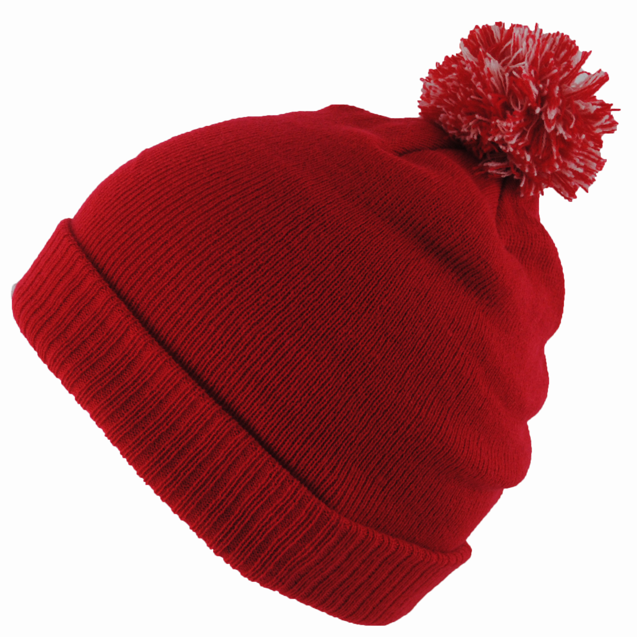 BNWT Junior Kids Knitted Green Navy Red Winter Wooly Roll ...