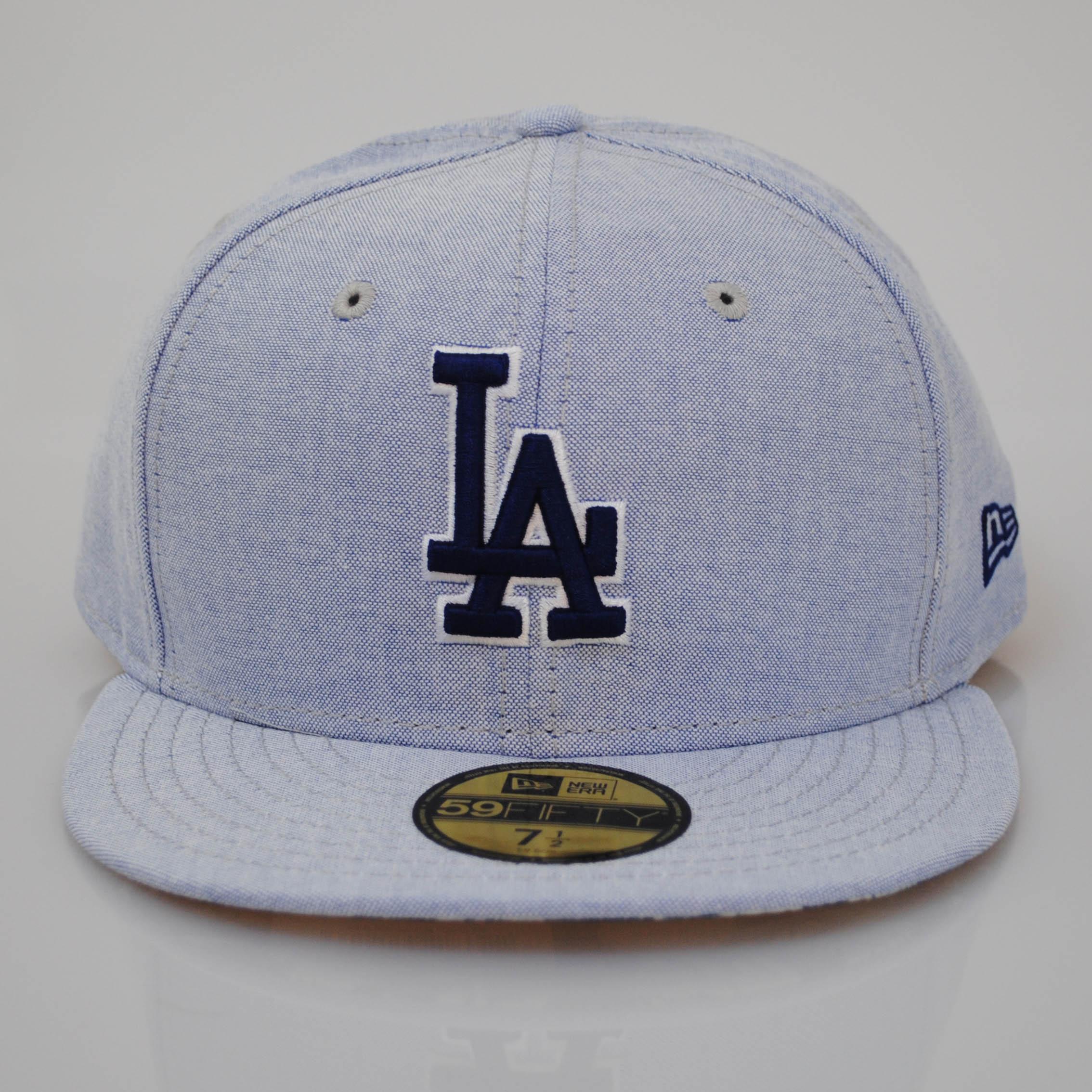 Dodger Hats Lids: New Era 59fifty LA Dodgers Flip Up Tropical Floral Blue
