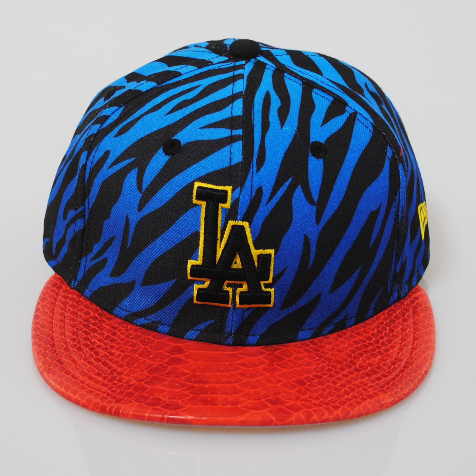 Dodger Hats Lids: New Era 9fifty LA Dodgers Jungle Mash Up Tiger Snakeskin