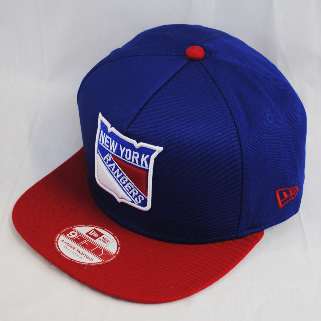 New Era 9Fifty Ny New York Rangers Nhl Vintage Flat Peak Snapback ... 028ba704b47