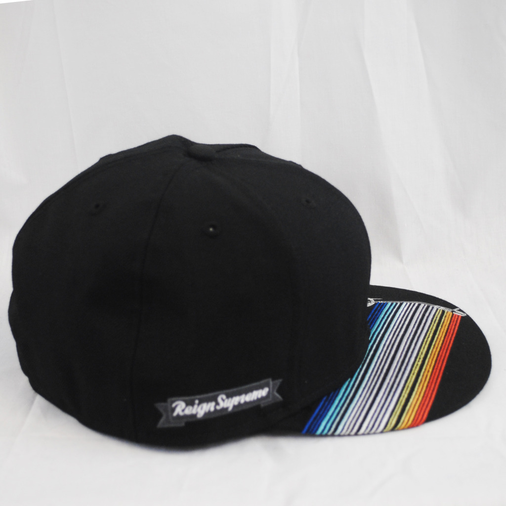 New Era 59fifty King Dj Barcode Reign Supreme Black Fitted